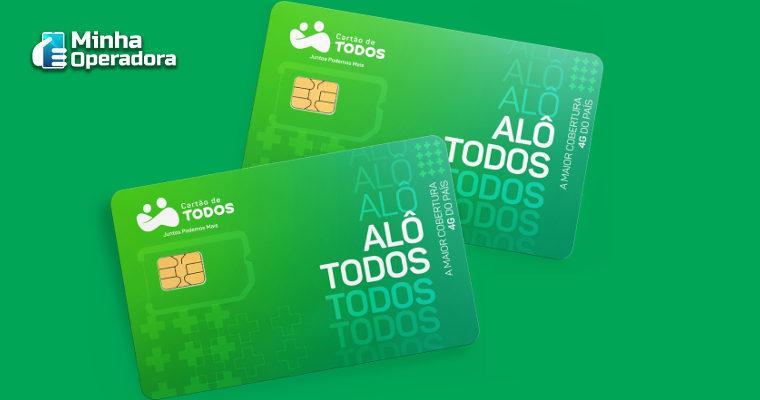 'Cartão de Todos' lança MVNO com plano móvel de 5GB por R$ 35