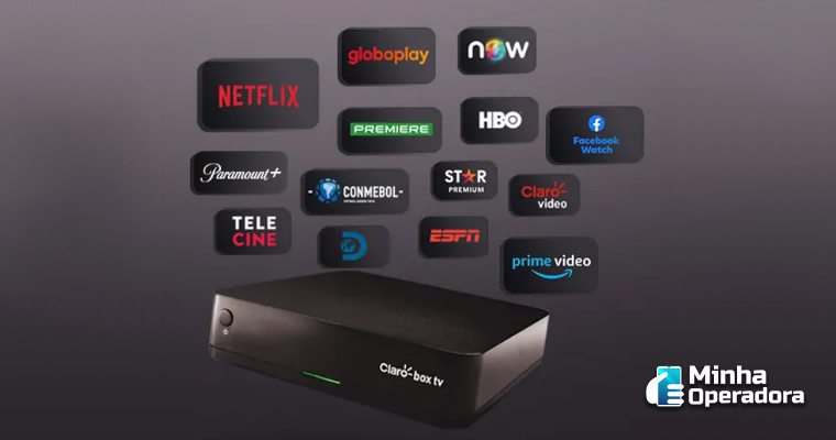 Claro box tv lança novo pacote com conteúdo premium