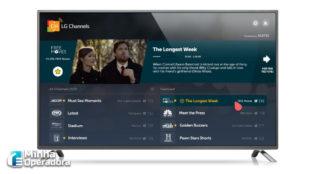 Novo canal é disponibilizado no IPTV 'LG Channels'
