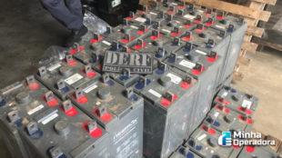Seis pessoas são indiciadas por roubo de baterias das operadoras