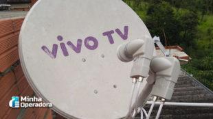 Vivo mantém serviço de TV via satélite até pelo menos o fim de 2022