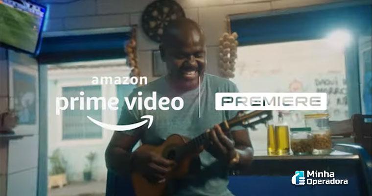 Comercial para anunciar o Premiere no Amazon Prime Video.