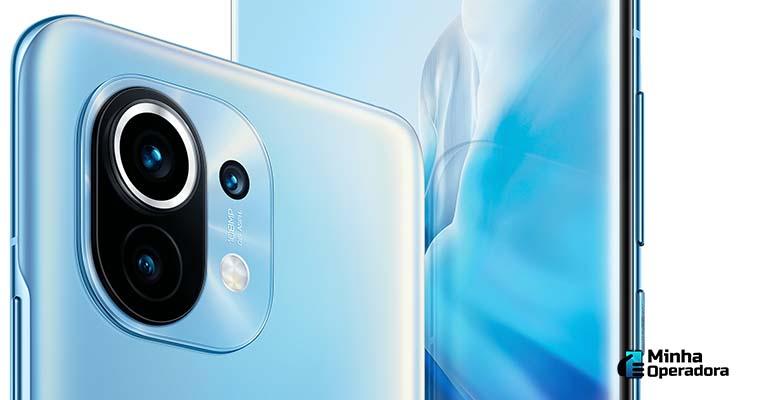 Smartphone Mi 11, lançamento da Xiaomi.