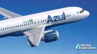 Azul passa a disponibilizar Wi-Fi gratuito a bordo de aviões no Brasil