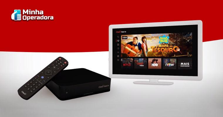 Claro box tv lança pacote com assinatura do Globoplay inclusa