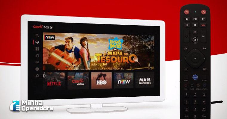 IPTV: Claro box tv já representa 30% das vendas de TV da operadora