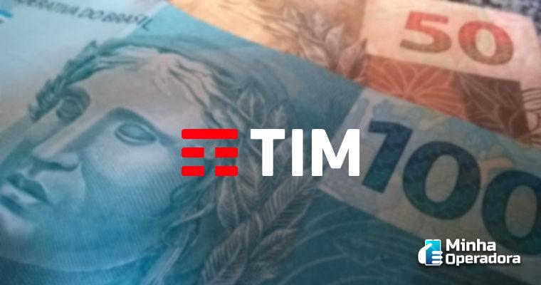 TIM paga a acionistas R$ 350 milhões em juros sobre capital próprio