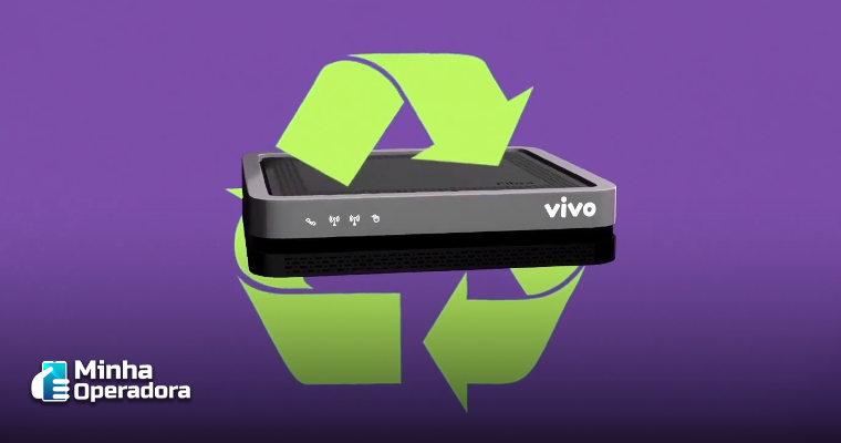 Vivo pretende reciclar 1,5 milhão de aparelhos de banda larga e TV
