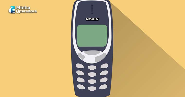 Imagem Ilustrativa: Celular antigo da Nokia (Pixabay)