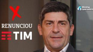 Adrian Calaza da TIM Brasil, apresenta renúncia