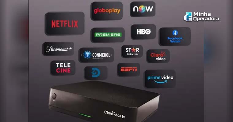 Imagem: Site do Claro Box TV - Captura de Tela