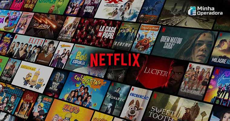 Site da Netflix - Captura da Tela