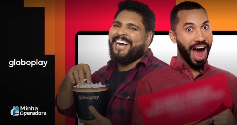 Imagem: Campanha promocional do Globoplay - Captura de Tela