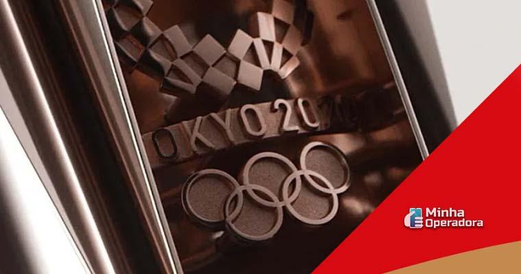Ilustração Olímpiadas Tóquio 2020 - Evento terá sinal aberto na TV por assinatura