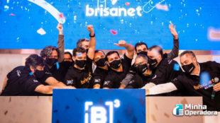 Ações da Brisanet fecham com pequena alta no dia de estreia na Bolsa de Valores