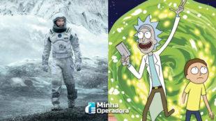 'Interestelar' e 'Rick and Morty' são os títulos mais populares no HBO Max