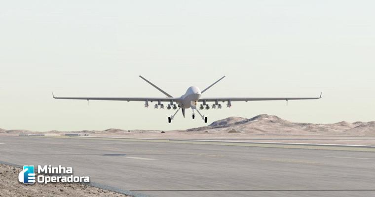 Na China, drones oferecem cobertura 5G para a população