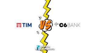 Parceria entre a TIM e o C6 Bank está ameaçada