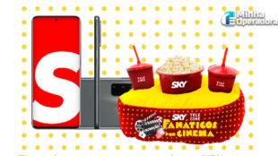 Promoção: SKY pretende sortear smartphones e 'kits cinema' para assinantes