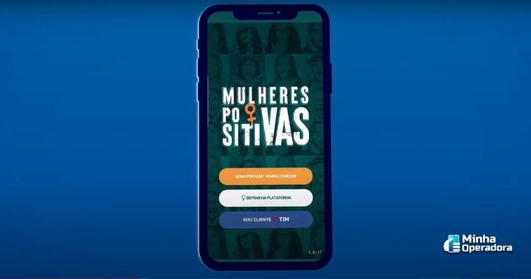 TIM lança novo aplicativo com foco na inclusão das mulheres