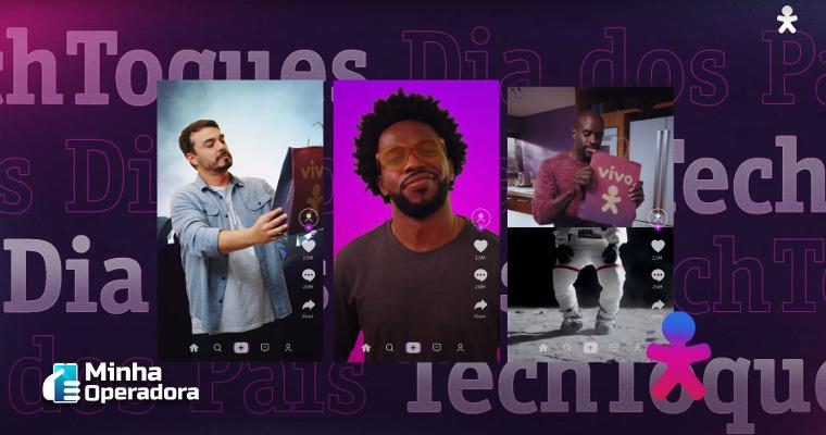 Vivo inicia campanha do 'Dia dos Pais' com descontos em aparelhos e cashback