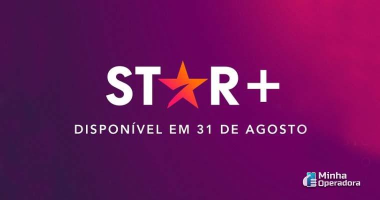 Logotipo do Star+, novo streaming da Disney. Imagem: Divulgação Instagram