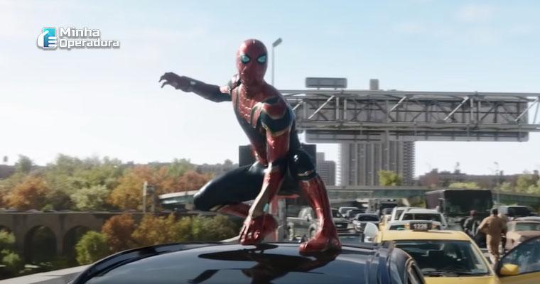 Cena exibida no trailer de Homem-Aranha: Sem Volta para Casa.