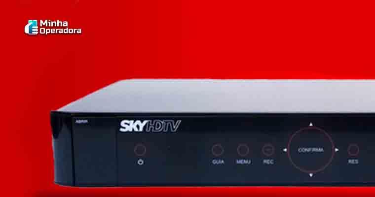 Decodificador da SKY (Divulgação site oficial)