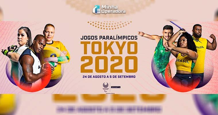 Imagem: Jogos Paralímpicos. Divulgação Twitter SporTV