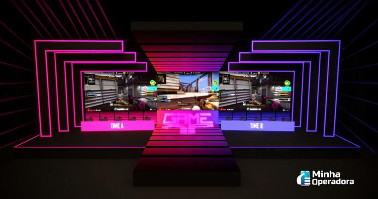Palco Oi Game Arena da Game XP. Imagem: Divulgação Oi