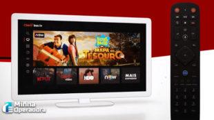 Claro box tv ganha acesso a mais um novo aplicativo