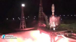 Concorrente da Starlink, OneWeb lança 34 satélites ao espaço