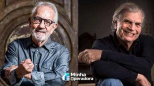 Globoplay promove 'sinal aberto' de obras de Tarcísio Meira e Paulo José