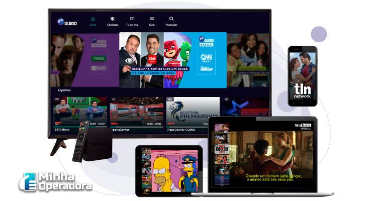 Guigo TV anuncia lançamento de conteúdos inéditos no Brasil