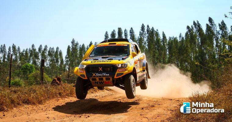 HughesNet será a operadora oficial do Rally dos Sertões 2021