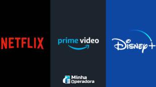 Netflix e Prime Video perdem mercado, enquanto Disney+ ganha mais clientes