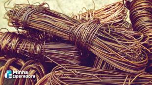 Roubo de cabos cresce quase 15% no primeiro semestre