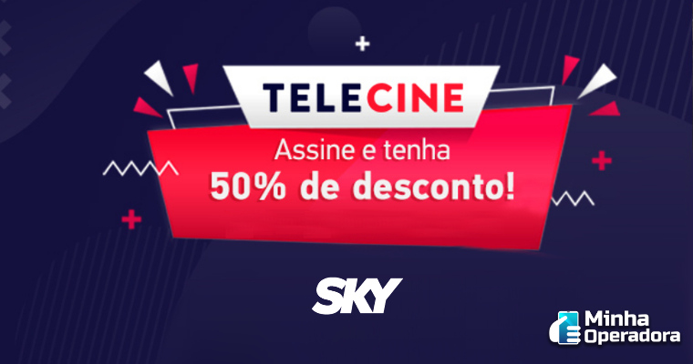 SKY oferta canais Telecine por metade do preço