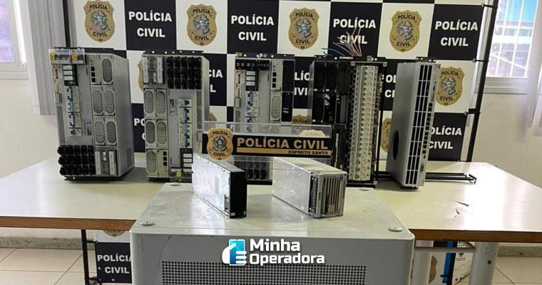 Suspeito é preso por desligar 31 torres de telefonia