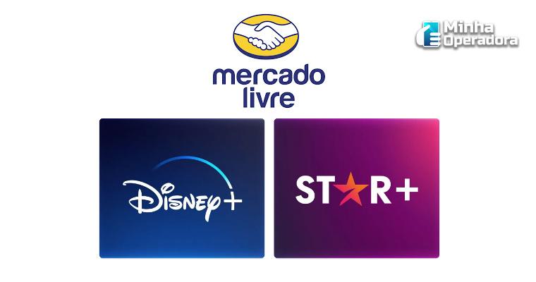 Usuários do Mercado Livre terão acesso gratuito ao combo Disney+ com Star+