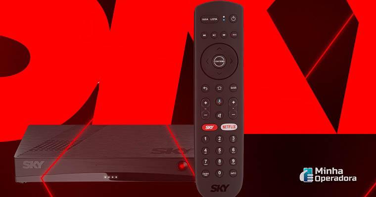 Imagem: Decodificador SKY Connect - Captura de Tela / Site da SKY