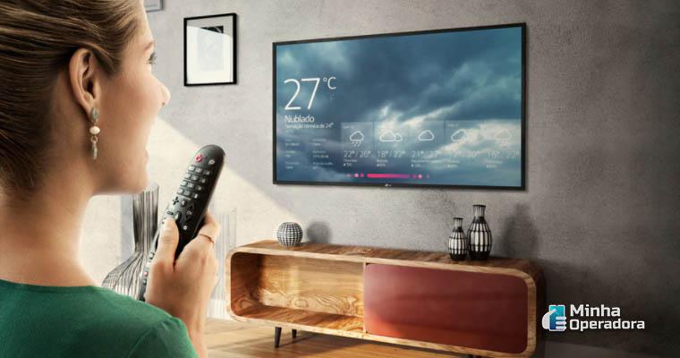 Imagem: Divulgação da Smart TV LG - Captura de Tela / Site oficial