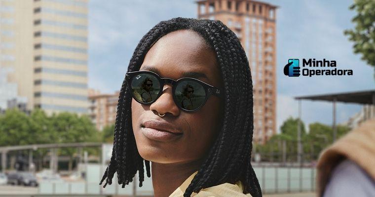 Facebook e Ray-Ban lançam óculos com câmera dupla e assistente de voz