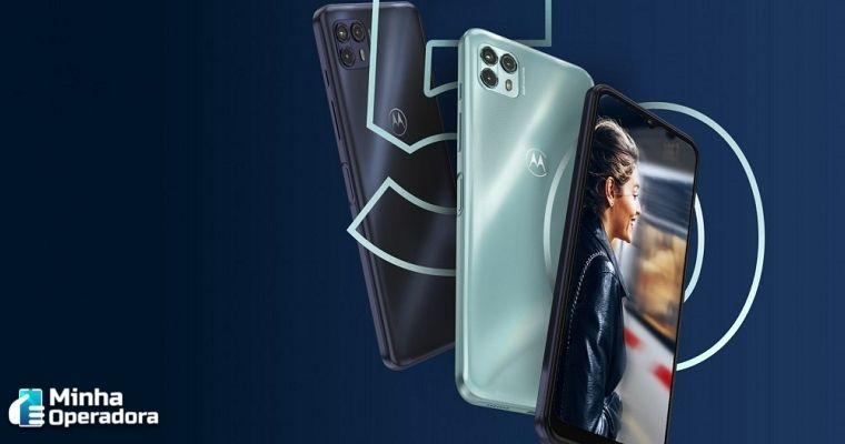 Motorola lança o Moto G50 5G em parceria com a Claro com preço acessível