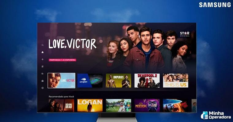 Televisores Samsung passam a ter aplicativo do streaming Star+