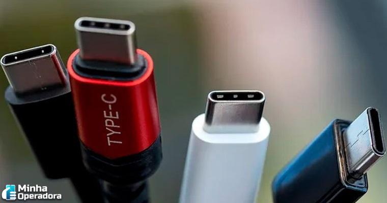 UE pretende unificar cabos USB-C de aparelhos eletrônicos
