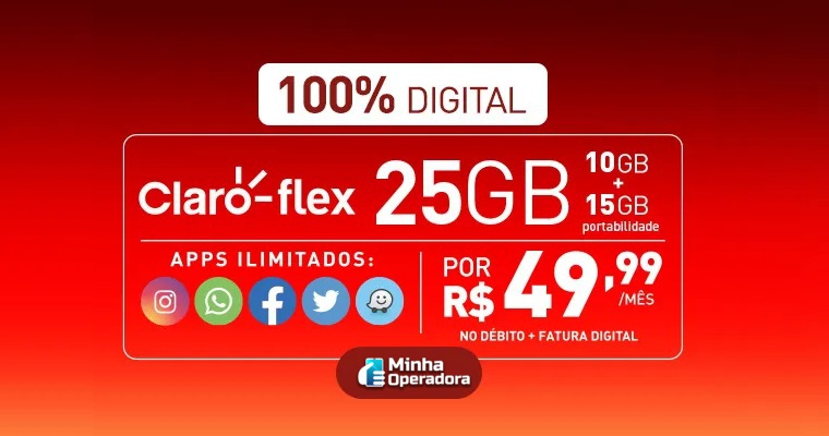 Claro flex aumenta franquia de internet de novo e ainda diminui o preço