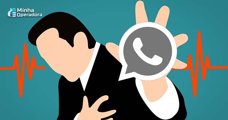 Falha no WhatsApp gerou prejuízo histórico para empresas