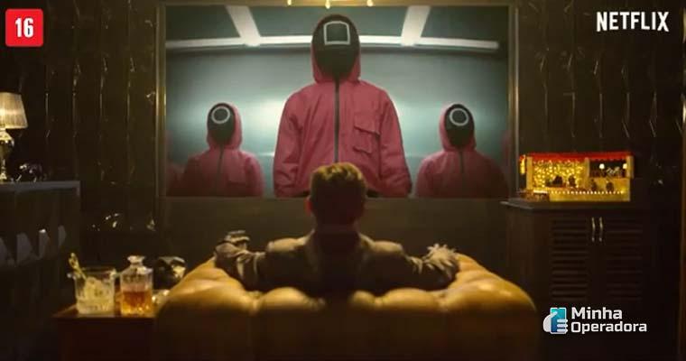 Netflix volta a empolgar investidores após sucesso de 'Round 6'