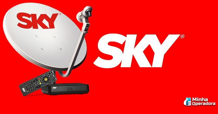 SKY libera sinal de 11 canais para assinantes pré e pós-pago